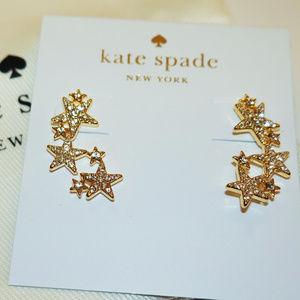 Kate Spade Seeing Stars Star Ear Pins